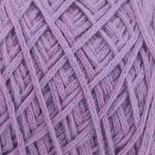 Lavender cotton artisan yarn by Figgi Yarns