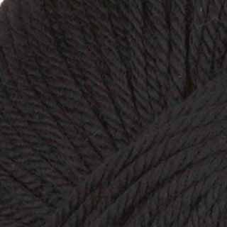 Black - Superwash Yarn DK