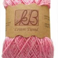 Cotton Candy Tweed Cotton Artisan Yarn