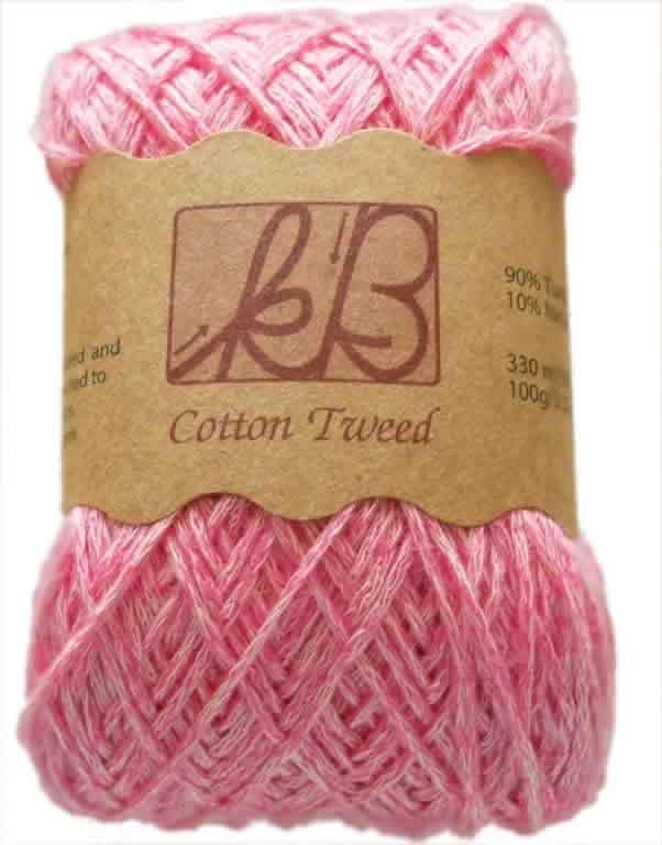 Cotton Candy Tweed Cotton Artisan Yarn