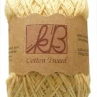 Golden Syrup Tweed Cotton Artisan Yarn