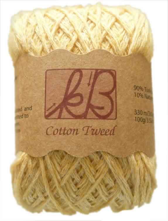 Golden Syrup Tweed Cotton Artisan Yarn