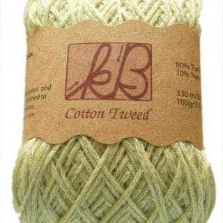 Lemon Sorbet Tweed Cotton Artisan Yarn