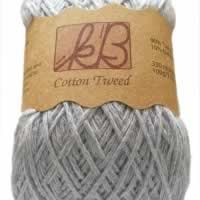 Parma Violet Tweed Cotton Artisan Yarn