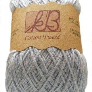 Parma Violet Tweed Cotton Artisan Yarn
