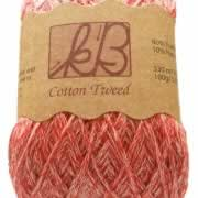 Strawberry Sorbet Twirl cotton yarn