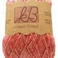 Strawberry Sorbet Tweed Cotton Artisan Yarn