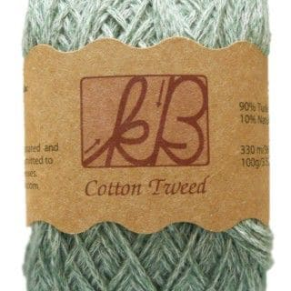 Taurus Green Tweed Cotton Artisan Yarn