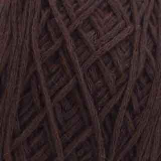 Turkish coffee cotton artisan yarn by Figgi Yarns