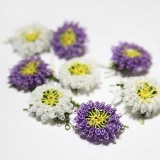 Oya Lace Cornflower